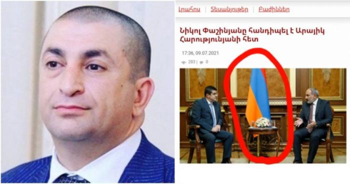 """Erməni analitik gileyləndi:   Daha Qarabağın """"bayrağını"""" asa bilmirik"""