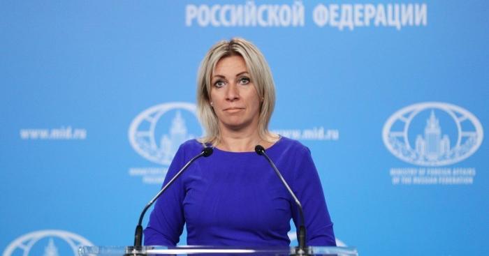 """ماريا زاخاروفا ضحكت على الأرمن ، ردت على """"النقد"""" -   صور"""