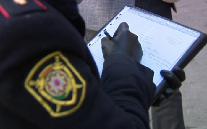 Polis karantin qaydalarını pozan restoran sahibini cərimələdi
