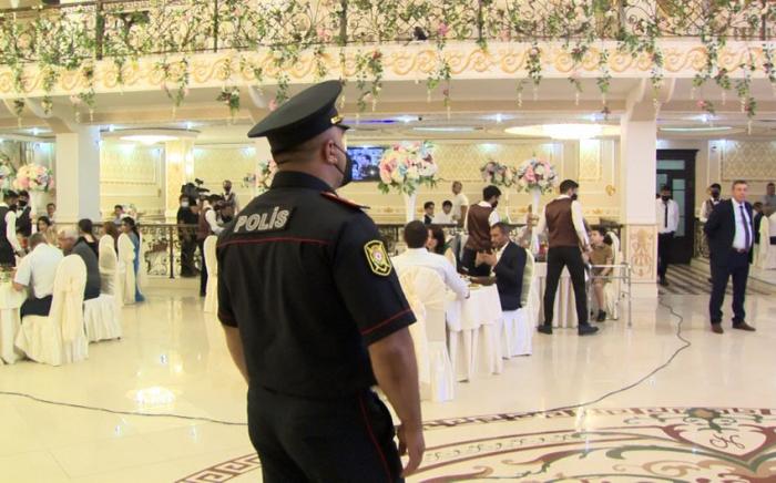 Polis restoran sahibi və toyun təşkilatçısını cərimələdi