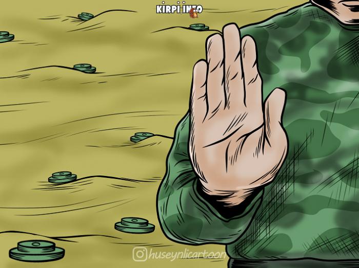 "Ekoterror, mina, ""delta"", Paşinyan -    Həftənin karikaturaları"