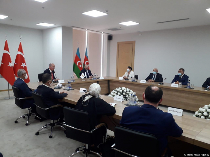 Visit to Azerbaijan - very productive - First Deputy Chairman of Justice and Development Party of Turkey