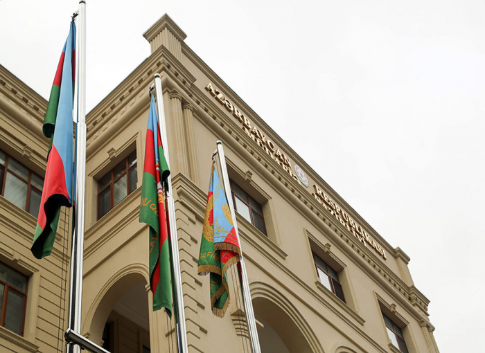 MoD: Information on allegedly shot down two UAVs of the Azerbaijani army is false