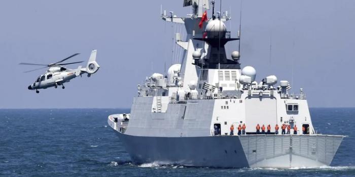 ABŞ esminesi Çin sularına soxulub