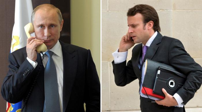 Putin ilə Makron Ukraynanı, Liviyanı və Qarabağı müzakirə ediblər