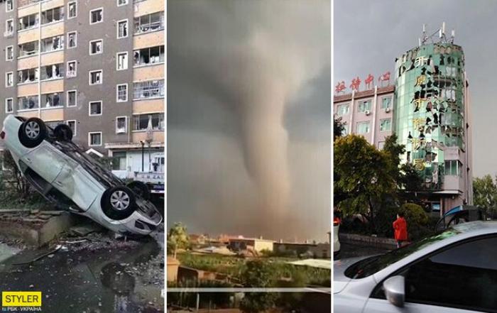 Çində son 10 ilin ən güclü tornadosu yaranıb