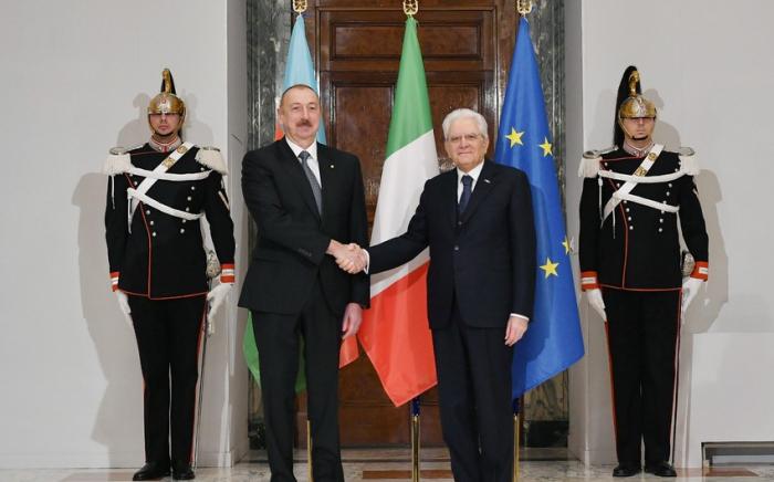 Euro-2020:Le président Ilham Aliyev a félicité son homologue italien