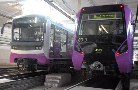 U-Bahnen in Baku fahren ohne Fahrer - Aserbaidschanische Eisenbahnen