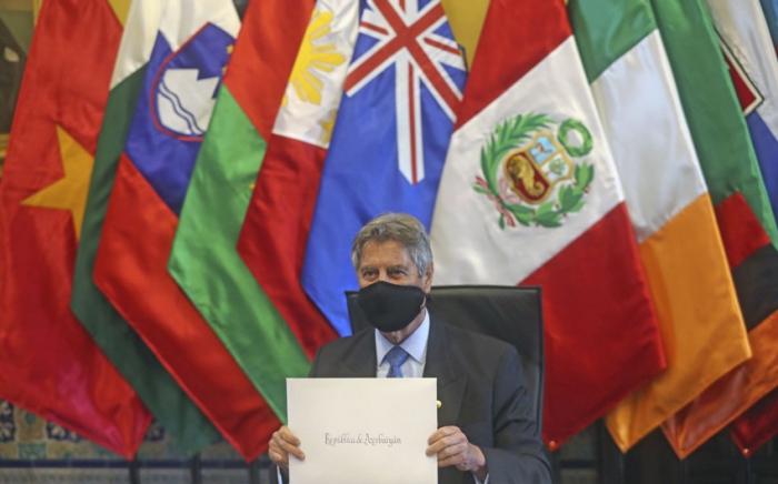 Peru prezidenti səfirimizin etimadnaməsini qəbul edib -    FOTO