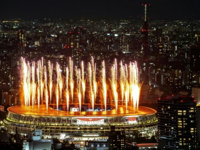 JO-2020:  Début de la cérémonie d