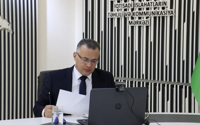 """""""Qeyri-neft sektorunda artım 5,1%-ə çatıb"""" -    Vüsal Qasımlı"""