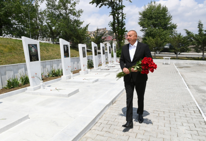 Le Président azerbaïdjanais a visité l
