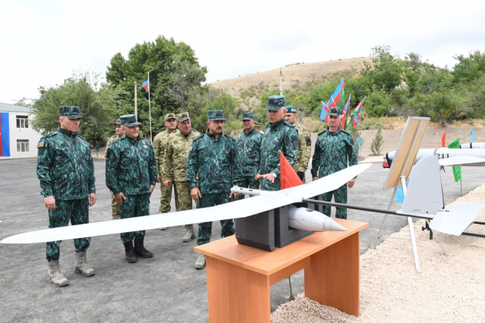Azerbaijan inauguarates new border service units in liberated Gubadli, Lachin districts -  PHOTOS
