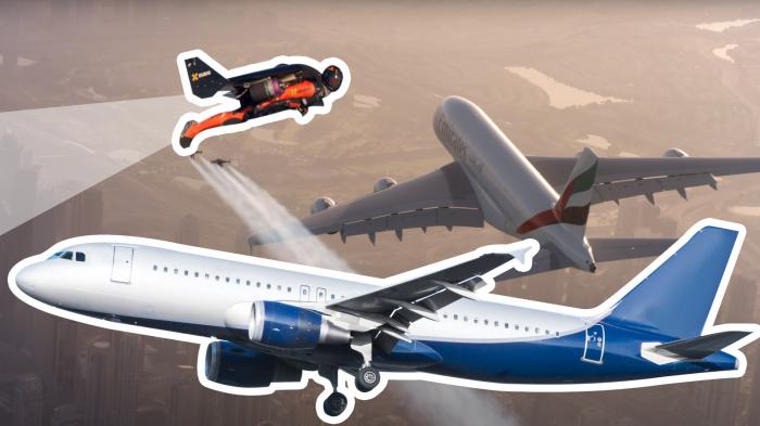 ABŞ-da ilginc hadisə:   Pilot uçan adam gördü