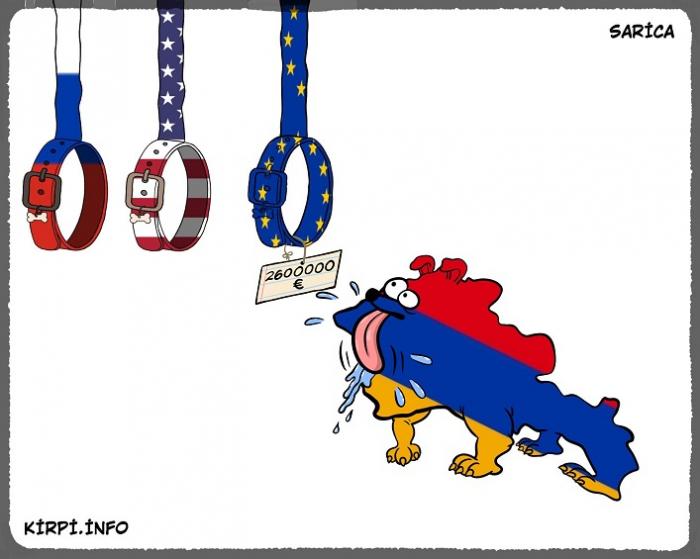Ermənistanın xarici siyasəti rubldan avroya keçir -  Replika