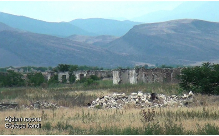قرية جويتابا في منطقة أغدام-  فيديو