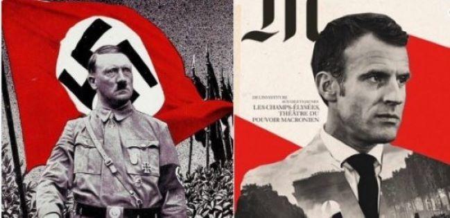 Makronu  Hitlerə  bənzədən karikaturaçıya cinayət işi açılıb