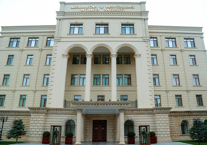 Ministère azerbaïdjanais de la Défense: l