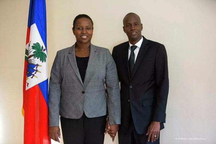 Haiti Prezidentinin xanımı qatillərdən danışdı