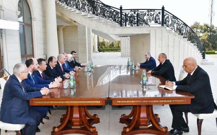 Le président azerbaïdjanais a reçu le vice-président de l