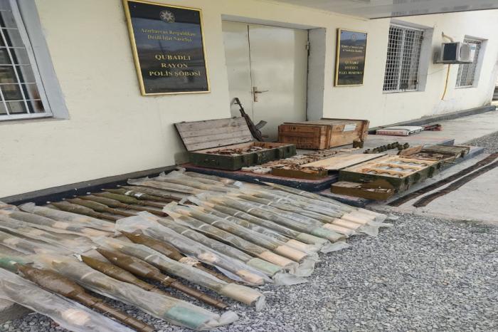 Des armes et munitions trouvées à Goubadly-PHOTO