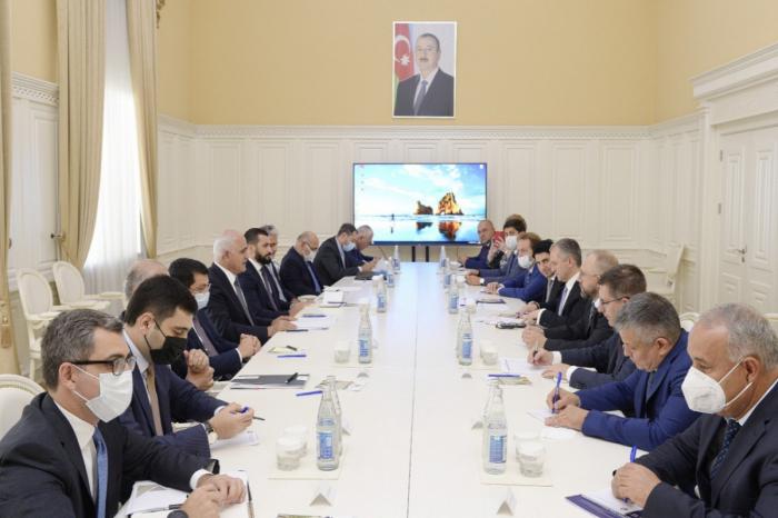 Şahin Mustafayev Rusiyanın iqtisadi inkişaf nazirinin müavini ilə görüşüb