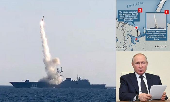 Rusiya yeni hipersəs raketini sınaqdan keçirdi -    VİDEO