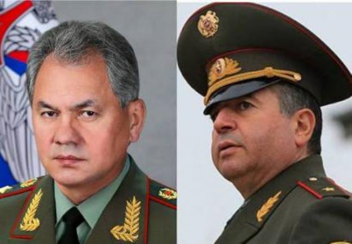Şoyqu və Karapetyan Moskvada danışıqlar aparıb