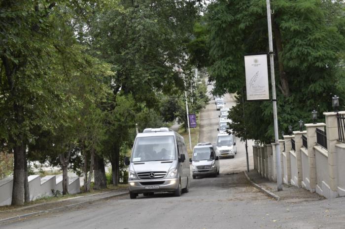 Xarici diplomatlar Şuşaya səfər edib
