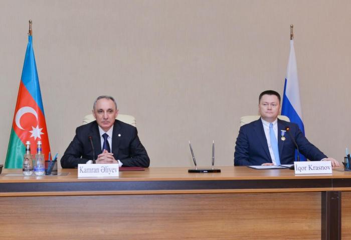 المدعي العام الروسي يهنئ كامران علييف