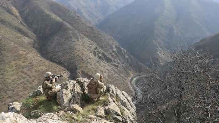 Les forces armées turques neutralisent deux terroristes dans le sud-est du pays