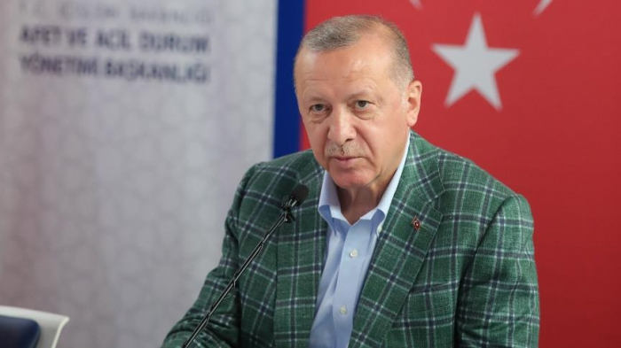 """""""Yanğından zərərçəkənlərə kömək ediləcək"""" -  Ərdoğan"""