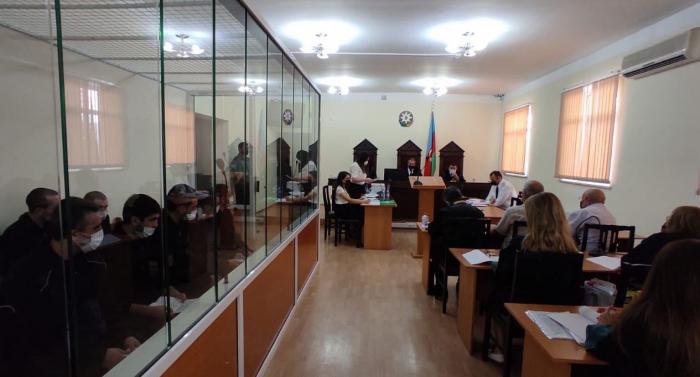 Preliminary court hearing on criminal case of13 Armenian terrorists held in Baku - UPDATED