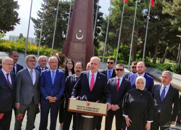 Numan Kurtulmusch:   Armenien muss sich von Eskalationspolitik fernhalten