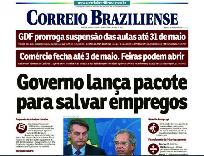 """""""Qafqazda Braziliya üçün də yeni imkanlar açılır"""" - """"Correio Brazilense"""""""