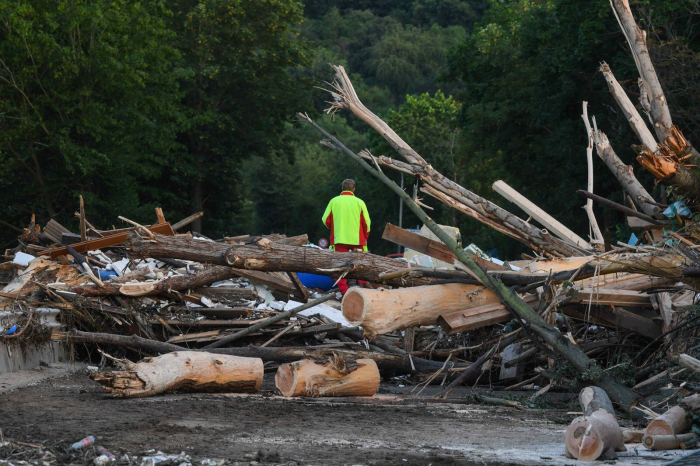 Le bilan des inondations fait état de 31 morts et 163 personnes portées disparues en Belgique