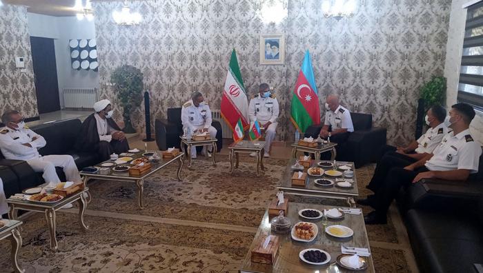 Azərbaycan və İran HDQ nümayəndə heyətləri arasında görüş keçirilib