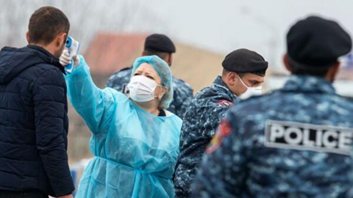 Ermənistanda son sutkada 383 nəfər koronavirusa yoluxub