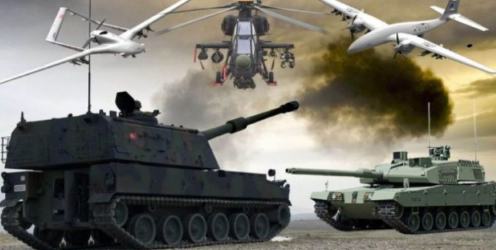 Turkey exported $ 164 million worth of defense products to Azerbaijan in 2021