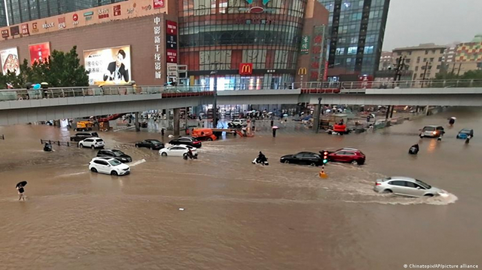 Death toll from flooding in China