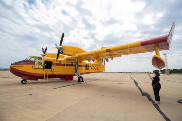 España envía tres aviones con el fin de luchar contra los incendios en Turquía