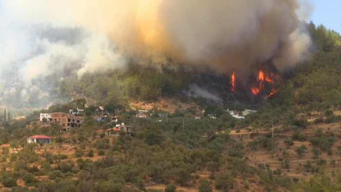 Locals scramble to escape south Turkey wildfires -  NO COMMENT