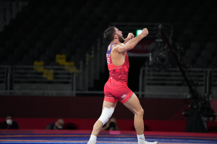 Azerbaijani wrestler wins bronze at Tokyo 2020 Olympic Games
