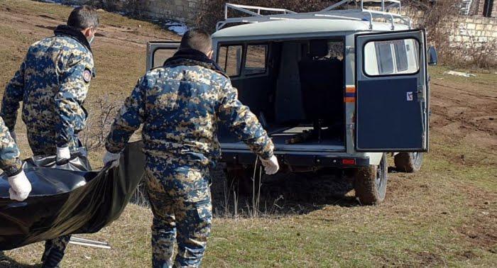 Los cuerpos de 6 militares armenios más son encontrados en Karabaj