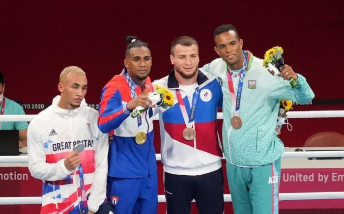Azerbaijani boxer wins bronze at Tokyo 2020 Summer Olympic Games