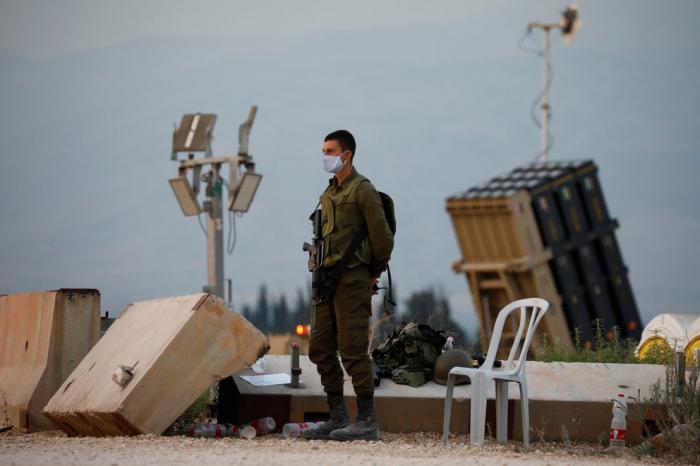 Israel respondió con fuego de artillería a un ataque con tres misiles desde el Líbano