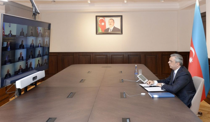 Coordination Headquarters convenes meeting on issues related to work in Azerbaijan