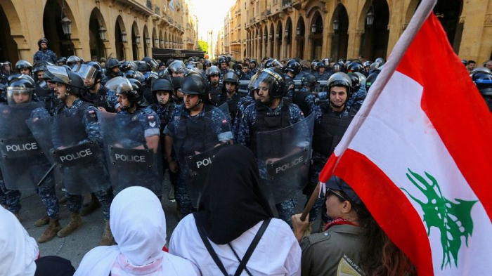 84 injured amid protests in Lebanon