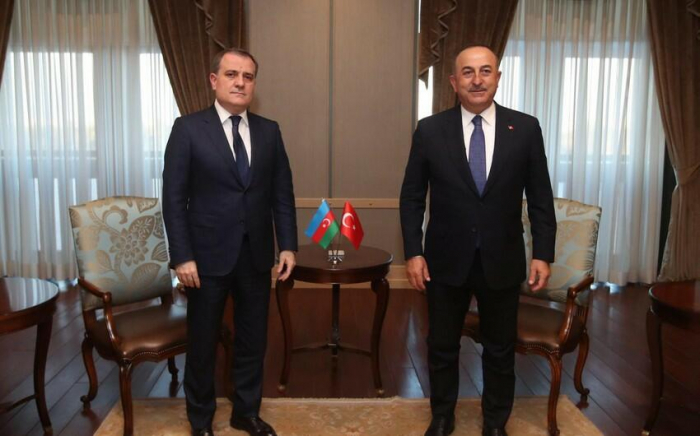 Azerbaijani and Turkish FMs discuss current situation regarding wildfires in Turkey