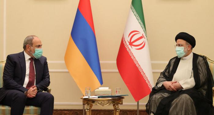 Armenian PM meets Iranian President in Tehran